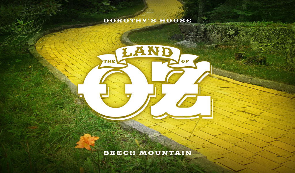 The Land of Oz - Yellow Brick Road