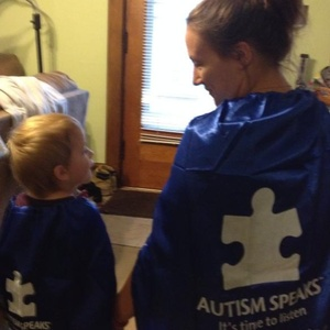 Autism Speaks - Liz and her Little Man - Autism Awareness