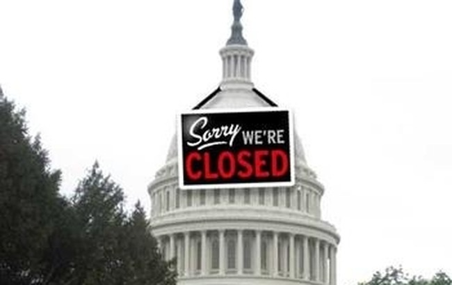 The Government Shutdown Began at Midnight on Tuesday